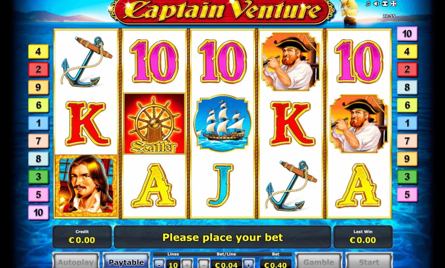 EURO 135 Free Cash at Casino Las Vegas