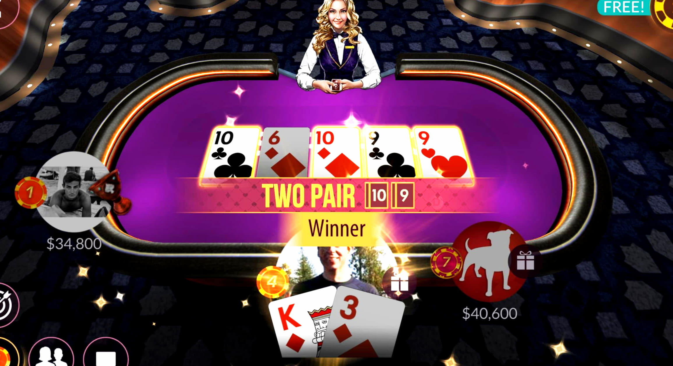 545% Match bonus at High Roll Casino