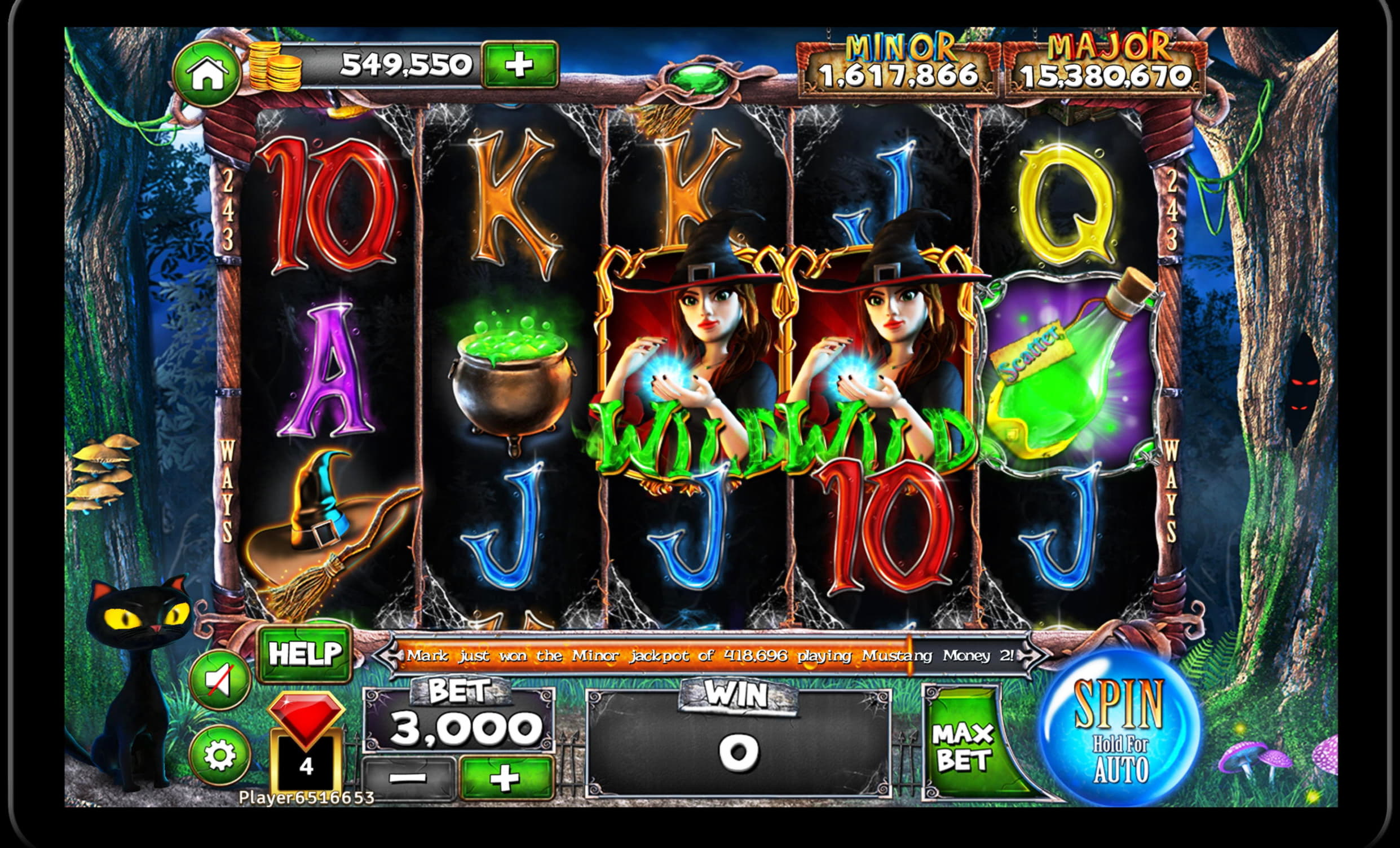 EUR 385 Daily freeroll slot tournament at Gaming Club Casino