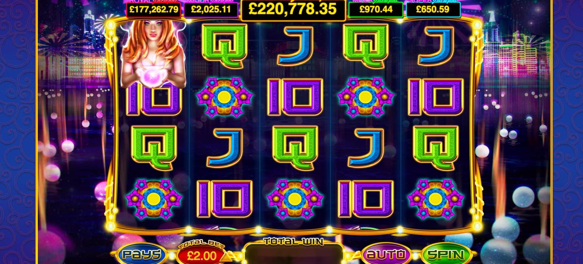 280 free spins no deposit at Royal Vegas Casino