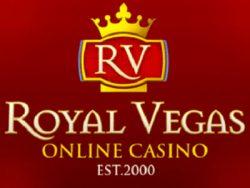 935% Match at a casino at Royal Vegas Casino
