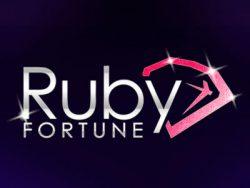 600% Casino match bonus at Ruby Fortune Casino